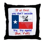 Bye, Y'all! Throw Pillow