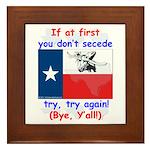 Bye, Y'all! Framed Tile