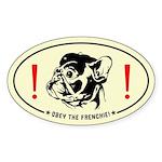 FRENCHIE Revolution! French Bulldog car Sticker
