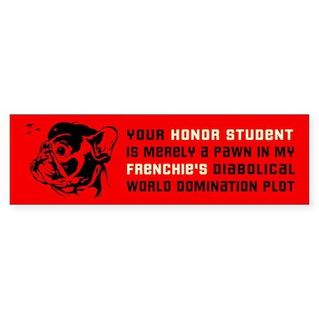 FRENCHIE Revolution! Bumper Sticker
