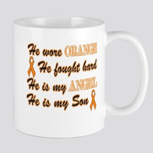 He is my Son Orange Angel Mug