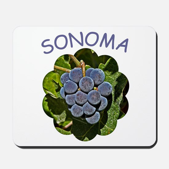 Sonoma Grapes - Mousepad