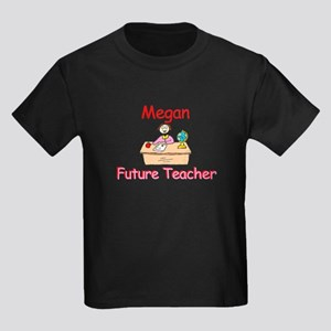 Megan - Future Teacher Kids Dark T-Shirt