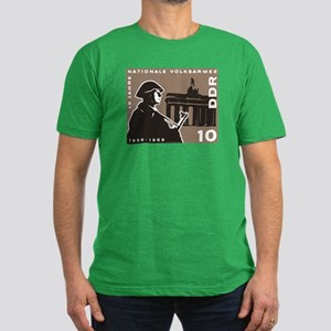 Nationale Volksarmee Men's Fitted T-Shirt (dark)