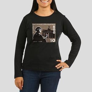 Nationale Volksarmee Women's Long Sleeve Dark T-Sh