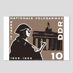 Nationale Volksarmee Postcards (Package of 8)