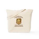 DHS Terrorist Tote Bag