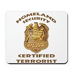 DHS Terrorist Mousepad