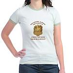 DHS Terrorist Jr. Ringer T-Shirt