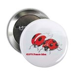 """Ladybugs 2.25"""" Button (10 pack)"""