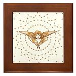Angel : Stars : Framed Tile