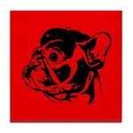 FRENCHIE Revolution! French Bulldog Tile Coaster