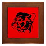 FRENCHIE Revolution! Framed Tile