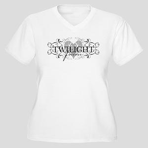 Twilight Forever Women's Plus Size V-Neck T-Shirt