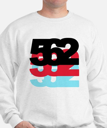 562 Area Code Sweatshirt