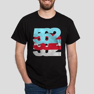 562 Area Code Dark T-Shirt