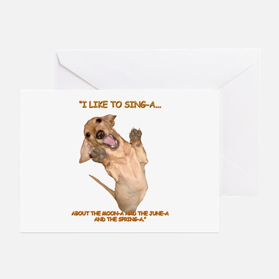 Singing Greeting Cards (Pk of 20)
