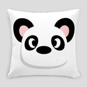 Panda Face Everyday Pillow