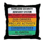 Homeland Insults Throw Pillow