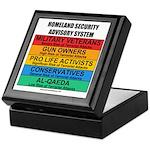 Homeland Insults Keepsake Box