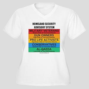 Homeland Insults Women's Plus Size V-Neck T-Shirt