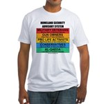 Homeland Insults Fitted T-Shirt