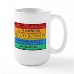 Homeland Insults Large Mug
