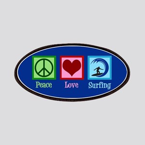Peace Love Surfing Patch