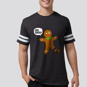 Oh, Snap! Funny Gingerbread Christmas Gif T-Shirt