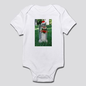 Christmas Squirrel Infant Bodysuit