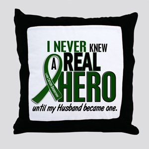 REAL HERO 2 Husband LiC Throw Pillow