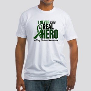 REAL HERO 2 Husband LiC Fitted T-Shirt