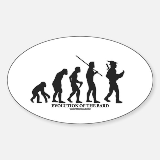 Evolution of the Bard Oval Decal