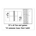 Lost Balls Postcards (Package of 8)