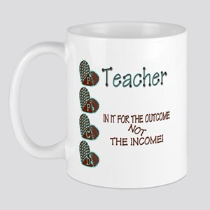 PPCD Teacher in it for the Outcome Mugs
