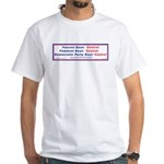 Alliance of Control White T-Shirt