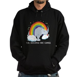 afa69a3eee4 Rhino Unicorn Men s Hoodies   Sweatshirts - CafePress