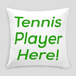 Tennis Player Everyday Pillow
