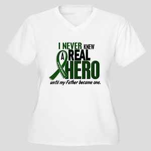 REAL HERO 2 Father LiC Women's Plus Size V-Neck T-