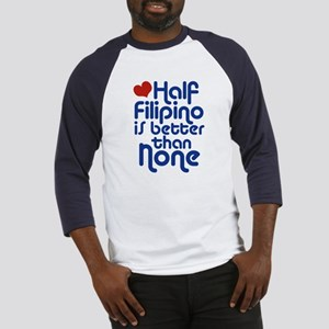 Half Filipino Baseball Jersey