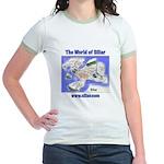 The World of Siliar Jr. Ringer T-Shirt