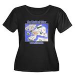 The Worl Women's Plus Size Scoop Neck Dark T-Shirt