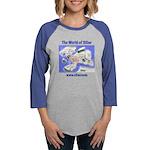 The World of Siliar Womens Baseball Tee