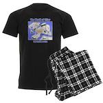 The World of Siliar Men's Dark Pajamas