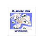 The World of Siliar Square Sticker 3