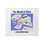 The World of Siliar Throw Blanket