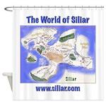 The World of Siliar Shower Curtain
