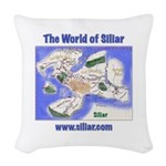The World of Siliar Woven Throw Pillow