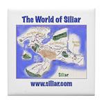 The World of Siliar Tile Coaster