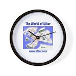 The World of Siliar Wall Clock
